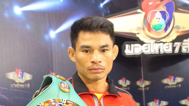 Menayothin (via Bangkok Post) won his world title in 2014