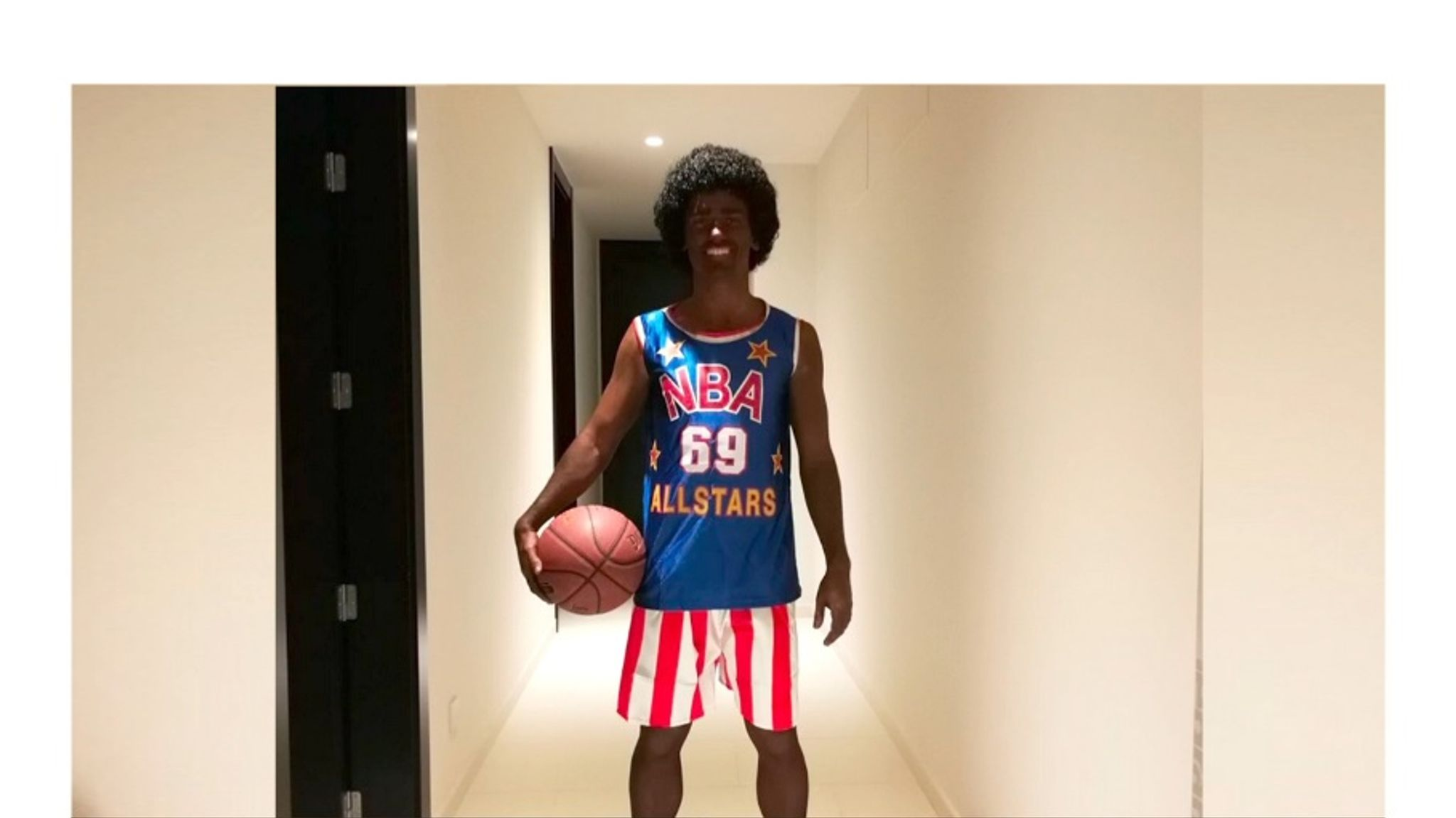 release date: b6c87 f1be0 Antoine Griezmann 'blackface' costume sparks contoversy ...