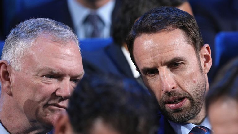 Southgate says England's current crop of players can go a long way