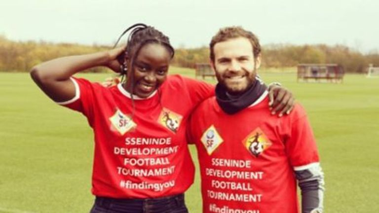Jean Sseninde: The first African to join Common Goal, launched by Juan Mata