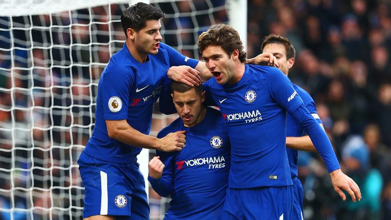 Watch highlights from Chelsea's 3-1 win over Newcastle