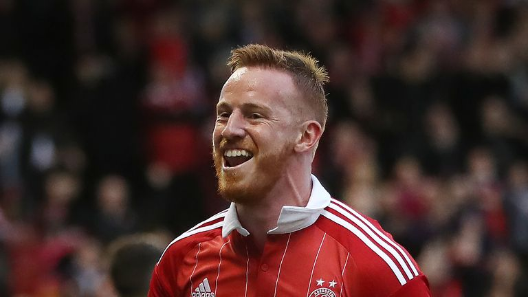 Adam Rooney scored twice against Ross County