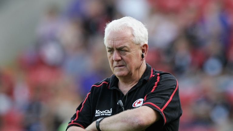 Alan Gaffney was Saracens director of rugby from 2006 to 2008