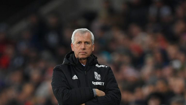 Alan Pardew's side have failed to score a goal in his two games in charge