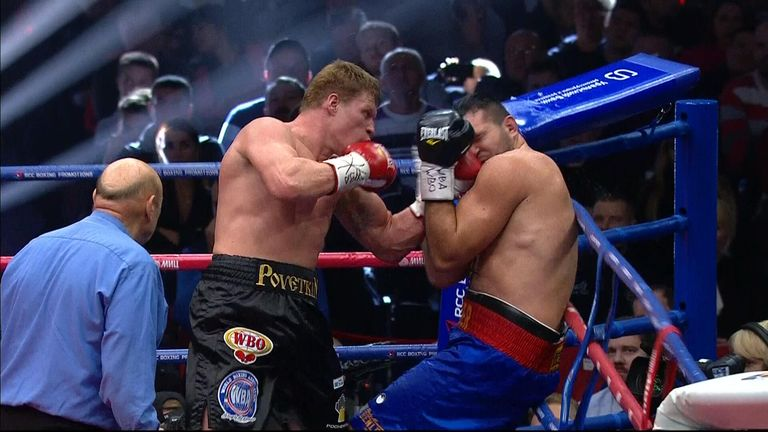 Povetkin dominated the final eliminator from start to finish