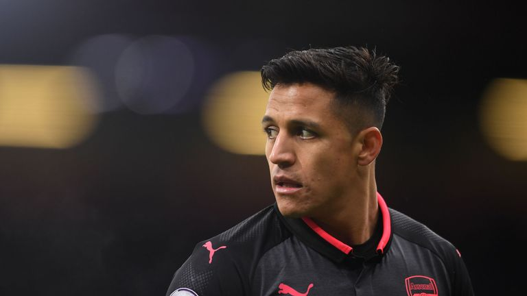 Wenger said there had been no change in Alexis Sanchez's future at the Emirates