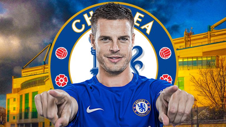 Cesar Azpilicueta was a £7m signing from Marseille in 2012