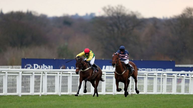 Action from Ascot