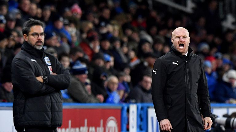 Sean Dyche's Burnley have picked up 17 points on the road