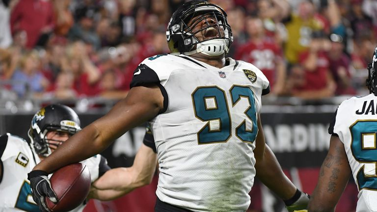 Calais Campbell has been a quarterback sacking machine in Jacksonville
