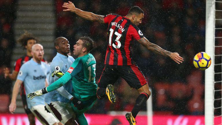 Should Bournemouth forward Callum Wilson's late goal have stood against West Ham? Dermot tells us...