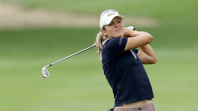 Herbin finished her round with back-to-back birdies