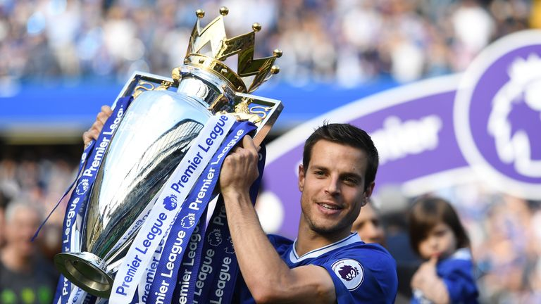 Azpilicueta played every minute of Chelsea's title-winning 2016/17 campaign