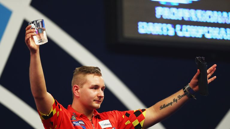 Dimitri van den Bergh is one of three newcomers on the World Series circuit in 2018