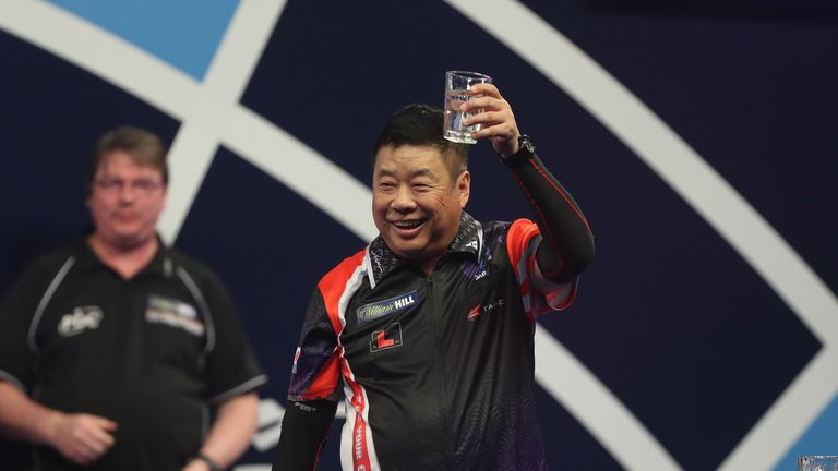 Paul Lim knocked Webster out of the World Championship