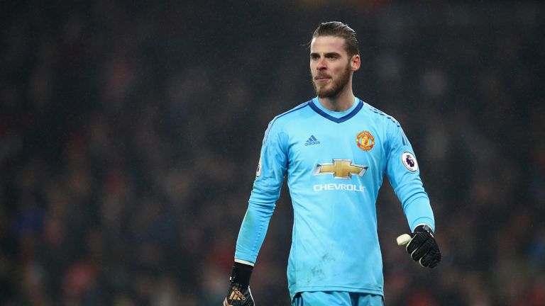 David de Gea has been in outstanding for Man United this season