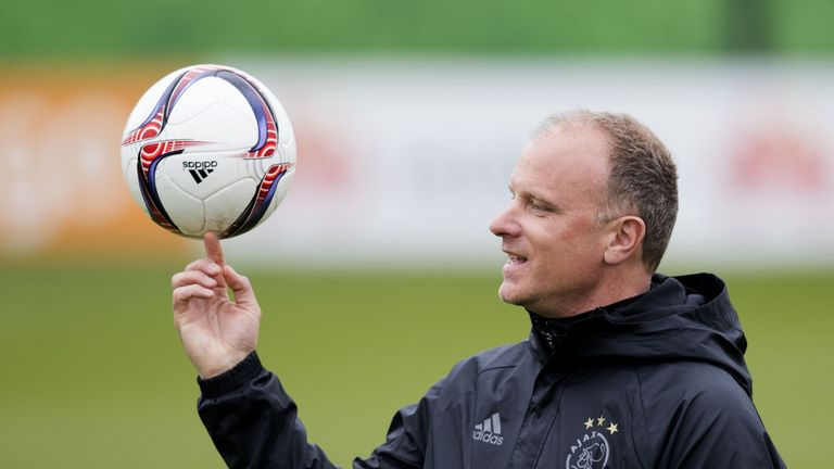 Dennis Bergkamp has left Ajax