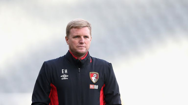 Eddie Howe's side head to Old Trafford on the back of just one defeat from the past four Premier League matches