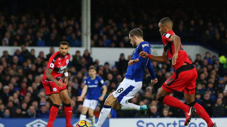 Gylfi Sigurdsson strokes in the opener after 47 minutes