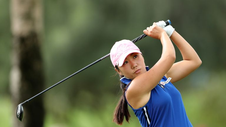 Kim continues her record of never winning a play-off in a professional event