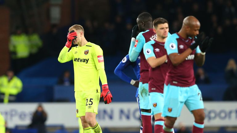 Hart endured a very difficult start to his season-long West Ham loan spell