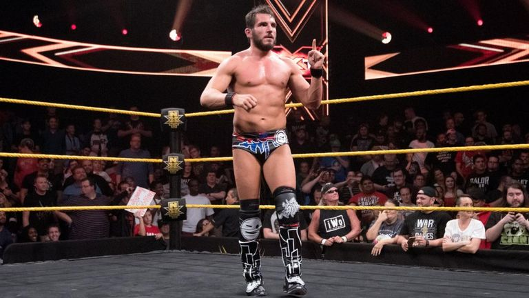 Johnny Gargano has become the number one contender for the NXT title