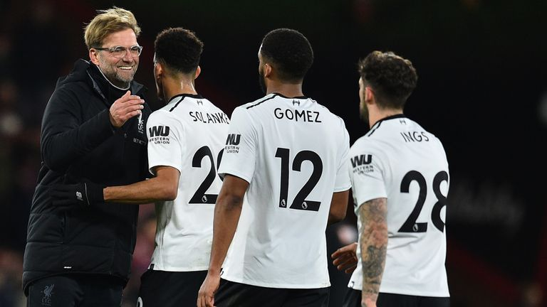 Jurgen Klopp was a major reason for Van Dijk choosing Liverpool
