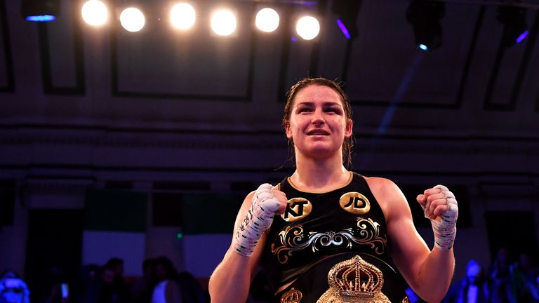 Katie Taylor retained her WBA World Lightweight Championship at the York Hall in London in December
