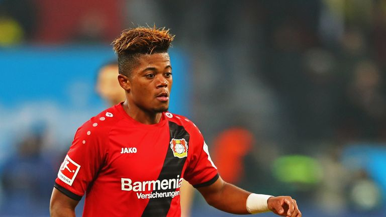 Leon Bailey has committed his future to Bayer Leverkusen