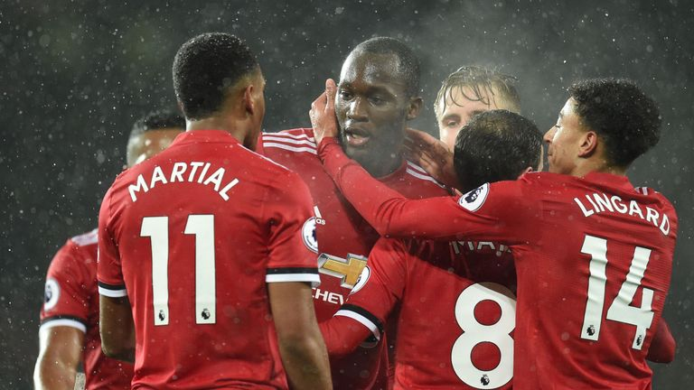 Romelu Lukaku scored as United ground out a 1-0 win over Bournemouth on Wednesday