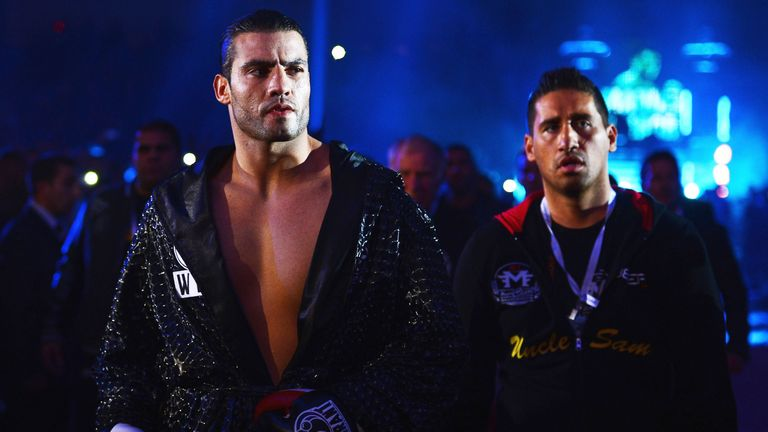 Manuel Charr, by way of Lebanon, is the current WBA ' regular' champion