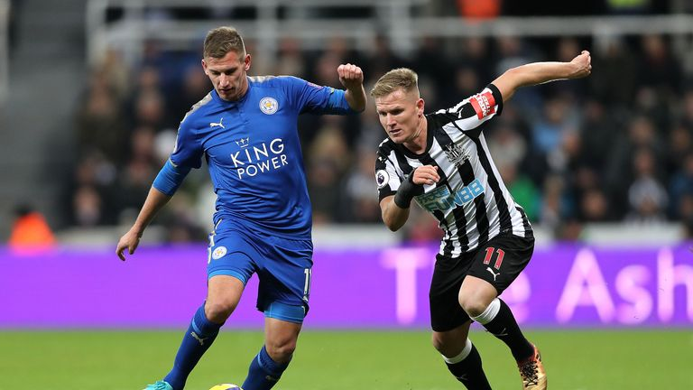 Matt Ritchie could return to Newcastle's starting line-up
