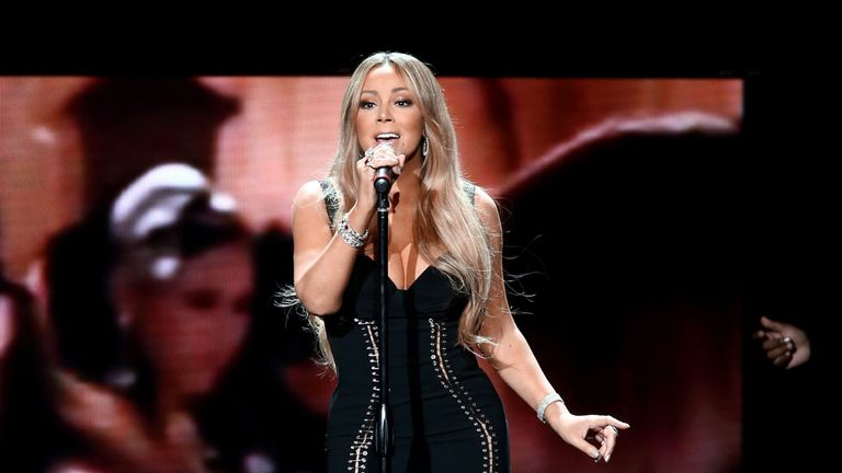 Mariah Carey's classic Christmas tune is music to the ears of Joshua