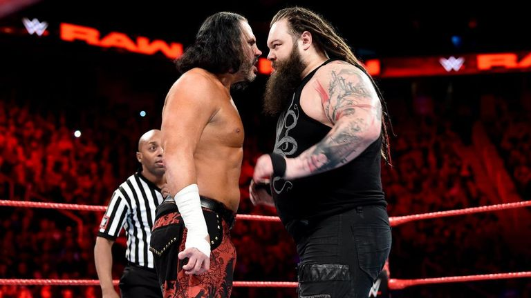 Matt Hardy was left in a bizarre condition following his Monday Night Raw loss to Bray Wyatt