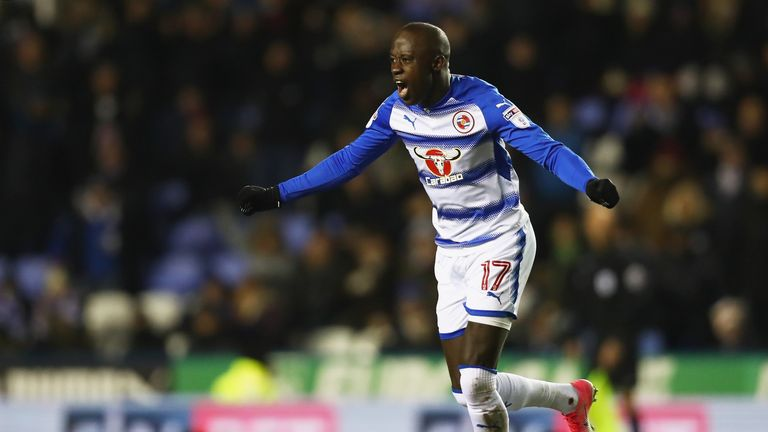 Mo Barrow is among the players expected to return for Reading