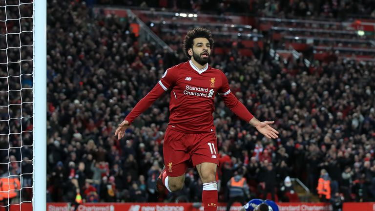 Mohamed Salah has been a revelation in his debut season for Liverpool