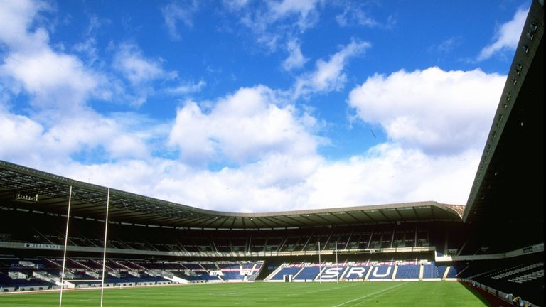 The choice between Hampden Park and Murrayfield was 'incredibly close' said Maxwell