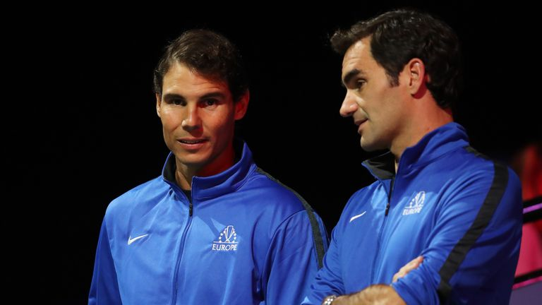 63de26543a5 Rafael Nadal and Roger Federer have confirmed they will play for Team  Europe in the Laver