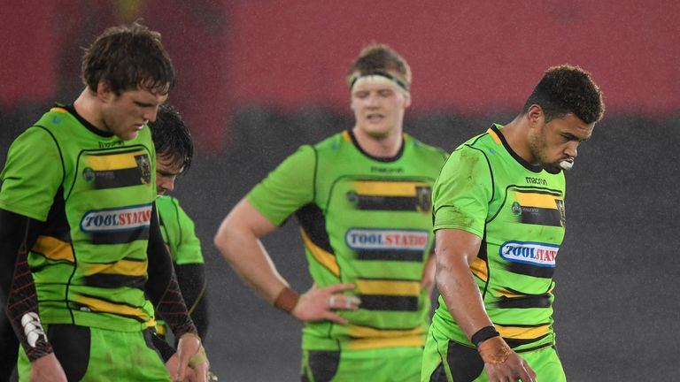 Northampton have struggled for form this season and sit 10th in the Aviva Premiership