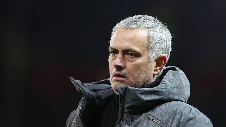 Mourinho accused reporters of showing a lack of respect to United's upcoming opponents, Bournemouth