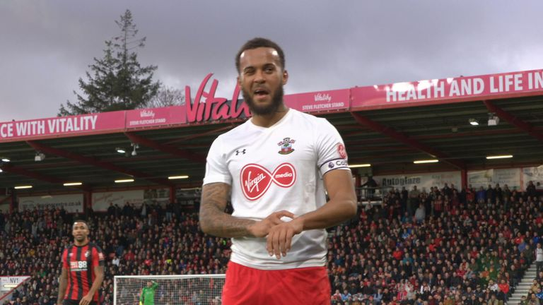 Ryan Bertrand helped Southampton stay in the Premier League