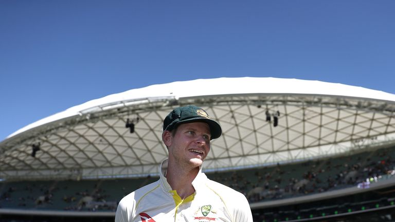 Steve Smith looks on after Australia claimed victory on day five of the second Test