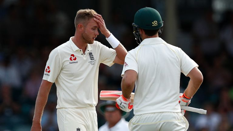Stuart Broad has been struggling for form during the Ashes