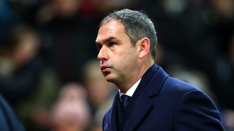 Clement was sacked on Wednesday with Swansea bottom of the Premier League
