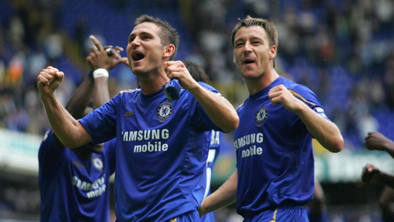 Lampard is Chelsea's all-time leading goalscorer with 211 in all competitions