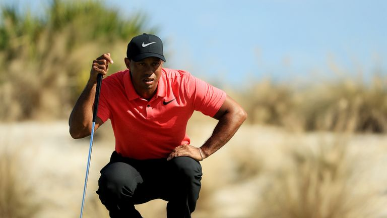 Woods appeared to be pain free all week in the Bahamas
