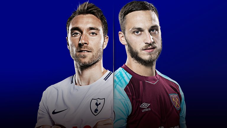 Watch Tottenham v West Ham United live on Sky Sports Premier League and Main Event