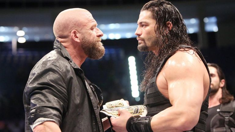 triple h says roman reigns is one of the best in wwe on every level
