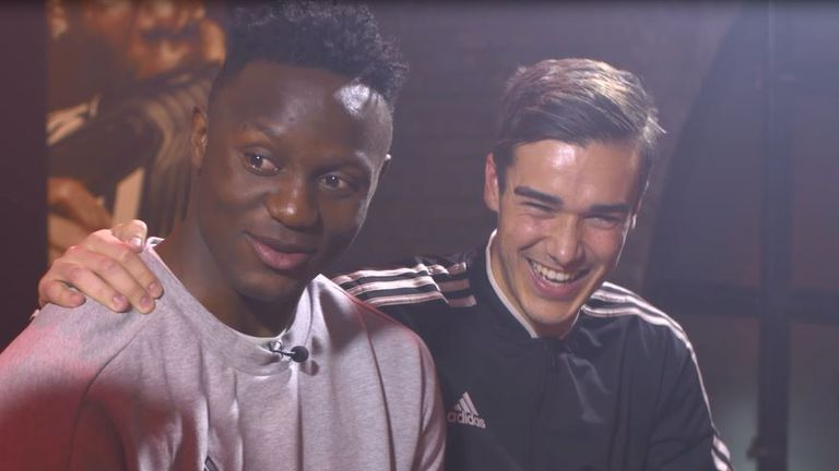 Harry Winks couldn't help but interrupt after being labelled Tottenham's biggest diva by Victor Wanyama