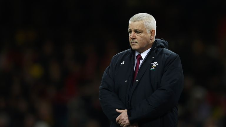 Warren Gatland will take charge of Wales for the 100th time in Dublin